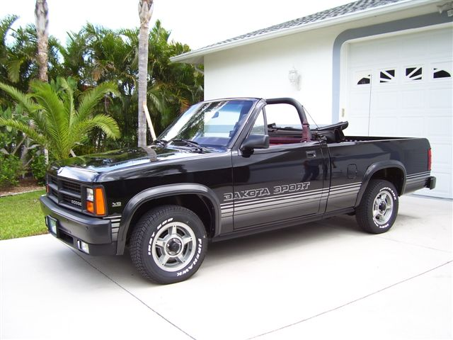 on 1991 Dodge Dakota Convertible