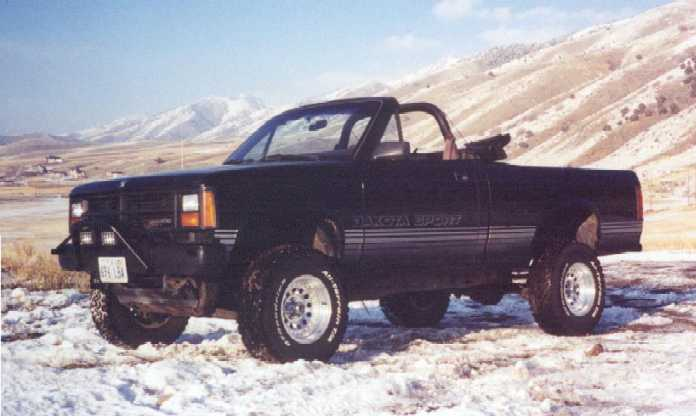 1989 Dodge Dakota convertible